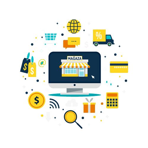 Dünyada E-ticaret Hızla Büyüyor